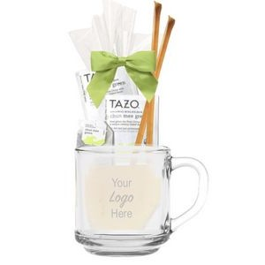 Tea & Honey Glass Gift Mug