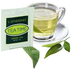 1.5 Oz. Individual Green Tea Bag (Direct Print)