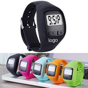Fitness Wrist 3D Pedometer Watch