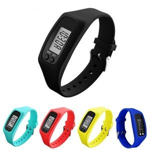 Fitness Wrist Pedometer Watch