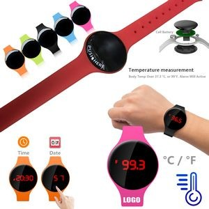 Wrist Thermometer With Bracelet Watch