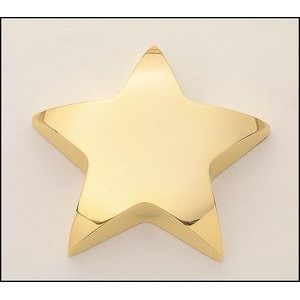 Constellation Gold-Finished Metal Star Paperweight