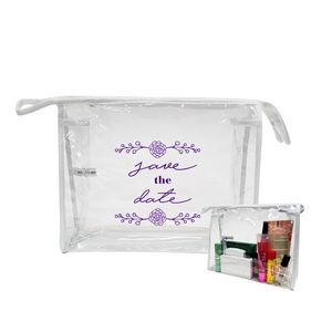 Clear Cosmetic Travel Carrier